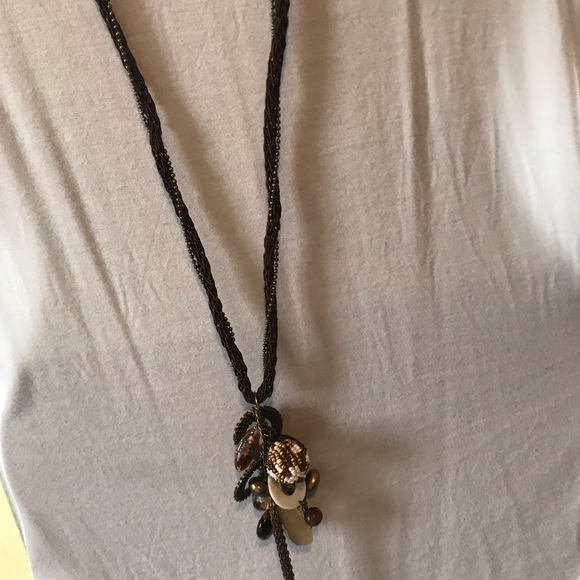Chico's Jewelry - Long beaded chain necklace